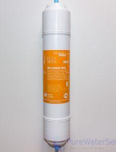 """Фильтр для пурифайеров ECOTRONIC Waterpia Gold Post-Carbon 14"""" вид 1"""