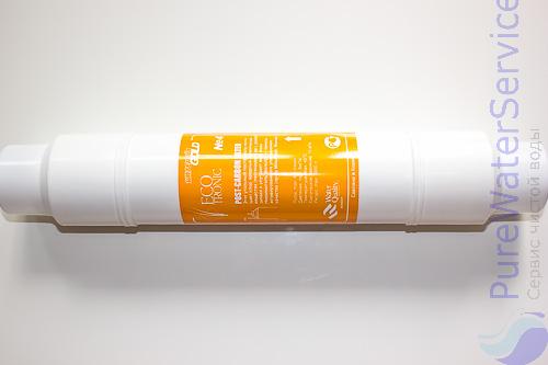 """Фильтр для пурифайеров ECOTRONIC Waterpia Gold Post-Carbon 14"""" вид 5"""
