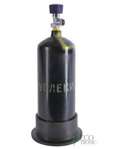 Баллон с газом CO2. 2 литра. Вид 1.