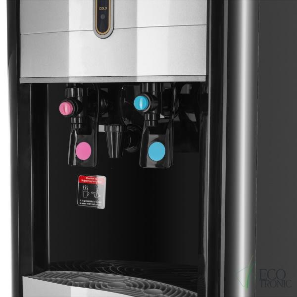 Пурифайер Ecotronic V40-U4L CARBO Black с газацией. Вид 5.